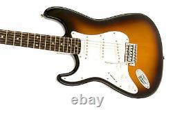 Fender Squier Affinity Stratocaster, Gaucher Brown Sunburst