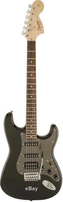 Fender Squier Affinity Stratocaster Hss Montego Noir Métallisé