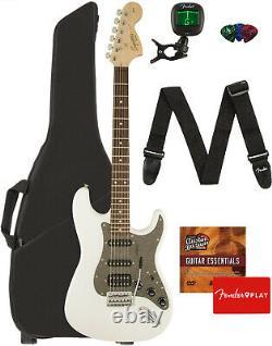 Fender Squier Affinity Stratocaster Hss Olympic White Avec Gig Bag