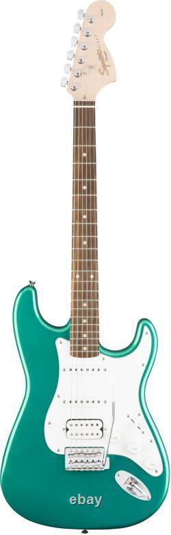 Fender Squier Affinity Stratocaster Hss Race Green Avec Gig Bag