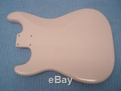 Fender Squier Shell Rose Stratocaster Hardtail Fat Strat Corps Ht Guitare Électrique