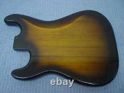 Fender Squier Strat Hardtail Stratocaster Brown Sunburst Body Electric Guitar Ht