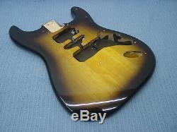 Fender Squier Strat Hardtail Stratocaster Sunburst Brown Body Electric Guitar Ht