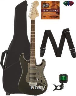 Fender Squier Stratocaster Affinity Hss Montego Noir Métallisé Avec Gig Bag