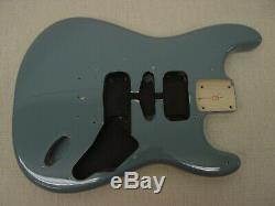 Fender Squier Stratocaster Hardtail Fat Strat Sonic Corps Gris Ht Guitare Électrique