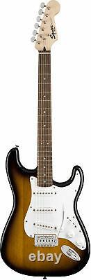 Fender Squier Stratocaster Pack Sunburst Avec Amplificateur Frontman 10g