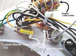 Fender Squier Stratocaster Sss Avec Blender Super Mods Écume Strat Demo
