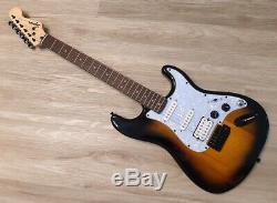 Fender Squier Stratocaster Turbocompressé Withblender Mod Sunburst Strat Hss