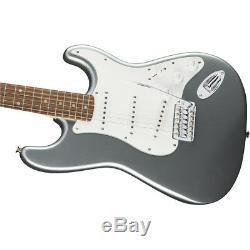 Fender Stratocaster Affinity Series Guitare Électrique Laurel Slick Argent