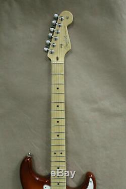 Fender Stratocaster American Professional Sienna Sunburst Guitare Électrique