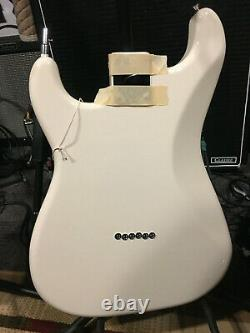 Fender Stratocaster Body Withelec Olympic White 12 String Nouveau