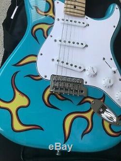 Fender Stratocaster Guitare Électrique X Tyler The Creator Golf Wang Flame