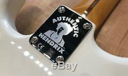 Fender Stratocaster Jimi Hendrix Electric Guitar Olympic White