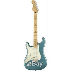 Fender Stratocaster Joueur Gauchers Guitare Électrique, Maple, Tidepool