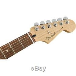 Fender Stratocaster Lecteur Guitare Électrique Pau Ferro Fingerboard Polar Blanc