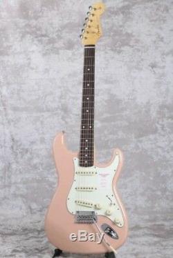 Fender Stratocaster Mij 60 Hybrides Rosewood Flamant Rose Rapide Navire Japon Ems