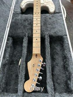 Fender Stratocaster Moto & Amp Set Mère De Toilette De Pearl 1995 Custom Shop USA