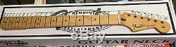 Fender Stratocaster Nouvelles Véritables Maple Guitar Neck Strat Medium Jumbo Frets