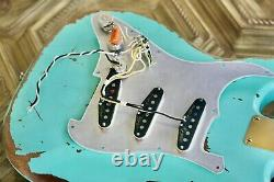 Fender Stratocaster Pickups Mint Green Abigail Ybarra Wound Abby Customshop