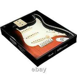 Fender Stratocaster Sss 57/62 Pickguard Prénuptial Blanc/arrière/blanc