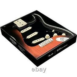 Fender Stratocaster Sss 57/62 Pre-wired Pickguard Noir/blanc/noir
