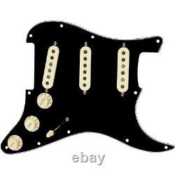 Fender Stratocaster Sss Tex Mex Pre-wired Pickguard Noir/blanc/noir