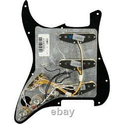 Fender Stratocaster Sss Texas Special Pre-wired Pickguard Noir/blanc/noir
