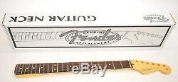 Fender Stratocaster USA Remplacement Du Cou Rosewood Med Jumbo 22 099-3000-921 Chantourner