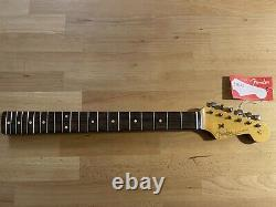 Fender USA Custom Shop 1961 Relic Stratocaster Neck + Tuners Strat Rosewood 61