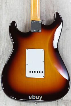 Fender Vintage Custom 1959 Stratocaster Nos Guitare, Chocolate 3-color Sunburst