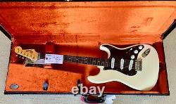 Fender Vintage Hot Rod'60 Stratocaster Hscs Tous Les Tags & Candy Olympic White