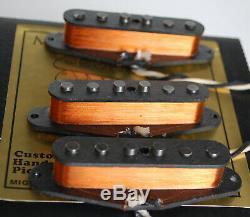 Fender Vintage Stratocaster'59 Micros Set Main Par Migas Wound Tactile Strat # 2