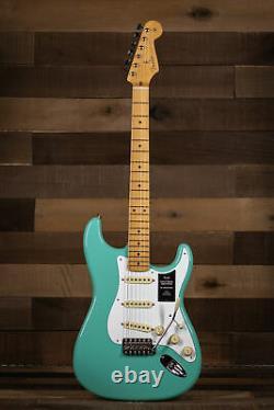 Fender Vintera'50s Stratocaster, Maple Fingerboard, Vert Mousse De Mer