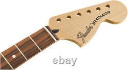 Genuine Fender Deluxe Series Stratocaster Neck, 12 Radius, Pau Ferro