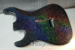 Holoflake Paint Job Sur Votre Corps De Guitare! Rénovation De La Guitare