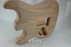 Le Corps De Guitare Acajou Hxx S'adapte Au Manche Fender Strat Stratocaster Floyd Rose J488