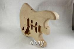 Le Corps De Guitare Alder Hardtail S'adapte Aux Cols Fender Strat Stratocaster J436