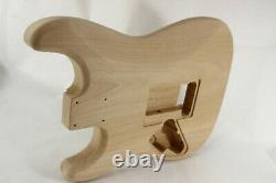 Le Corps De Guitare Alder Hss S'adapte Au Manche Fender Strat Stratocaster Floyd Rose J337