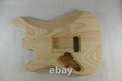 Le Corps De Guitare Ash Hxx S'adapte À Fender Strat Stratocaster Cou Floyd Rose J653