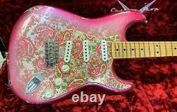 Ltd Fender Custom Shop 68 Relic Pink Paisley Stratocaster 2018 Ltd Fender Custom Shop 68 Relic Pink Paisley Stratocaster