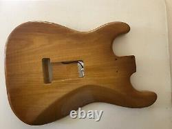 Mjt Stratocaster Body Loaded With Tone Specific 1969 Jazzy Strat Set. Pont Fender
