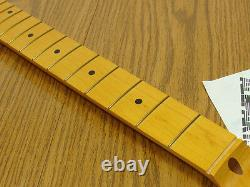 New Allparts Fender Licensed Aged Tint Maple Pour Stratocaster Strat Neck Smvf-c