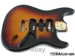 New Fender American Standard Stratocaster Remplacement Body Sunburst 005-4014-600