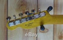 New Fender Mij Limited Edition Offset Telecaster Korina Aged Withgigbag Naturel