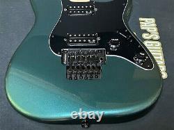 New Fender Squier Contemporain Stratocaster Gunmetal Métallique Loaded Corps