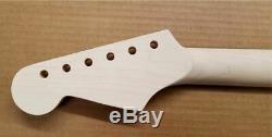 New Stratocaster Unfinished Manche En Érable Avec Ébène Fretboard