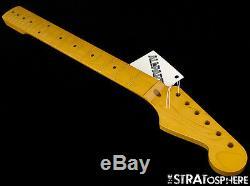 Nouveau Allparts Fender Stratocaster Licensed De Strat Manche Érable Nitro Smnf