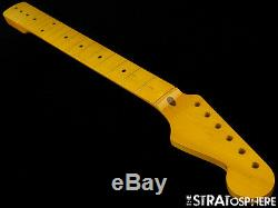Nouveau Allparts Fender Stratocaster Pour Licensed Cou Strat Maple V Nitro Smnf-v
