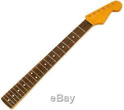 Nouveau Allparts Fender Stratocaster Pour Licensed Cou Strat Rosewood Vintage Srf-21