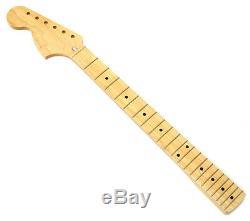 Nouveau Allparts Lefty Fender Stratocaster Pour Licensed Cou Strat Maple 70 Lmf-l